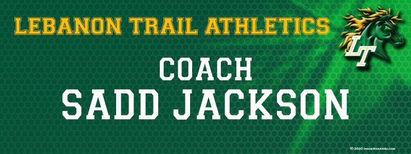 Frisco Lebanon Trail Coaches FB 2020 Locker Tag