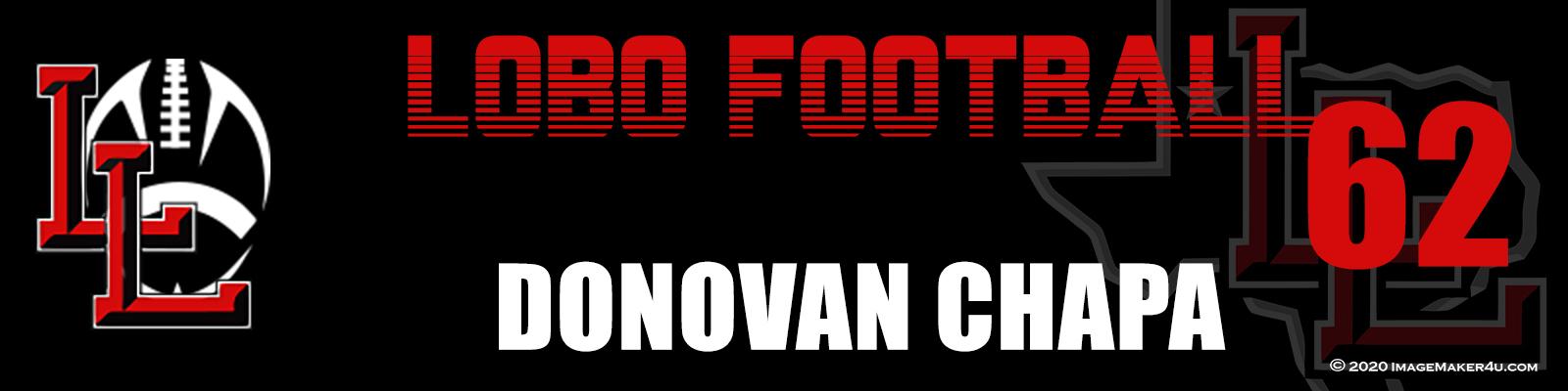 Levelland FB 2020 Coach Locker Tag 2x8
