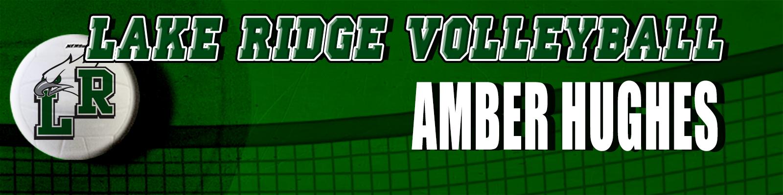 Mansfield Lake Ridge VB Sub-Varsity Locker Tags 2in x 8in