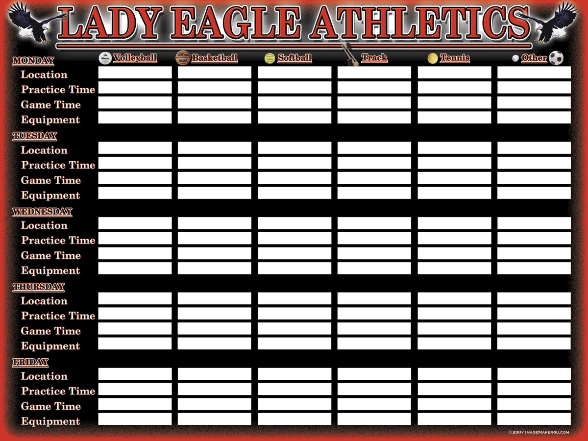 Argyle-Lady-Week-Schedule