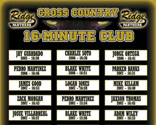 cross country records boards from image maker