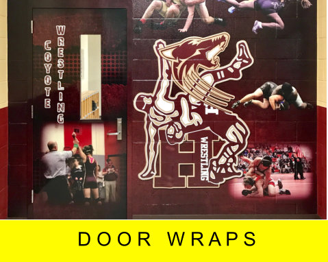 door wraps by image maker signs