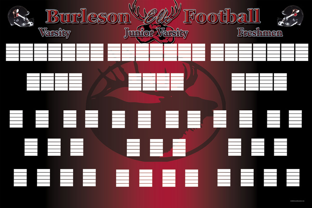 burleson depth chart