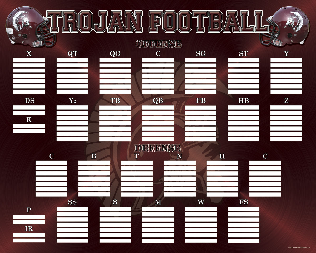 troy depth chart image maker