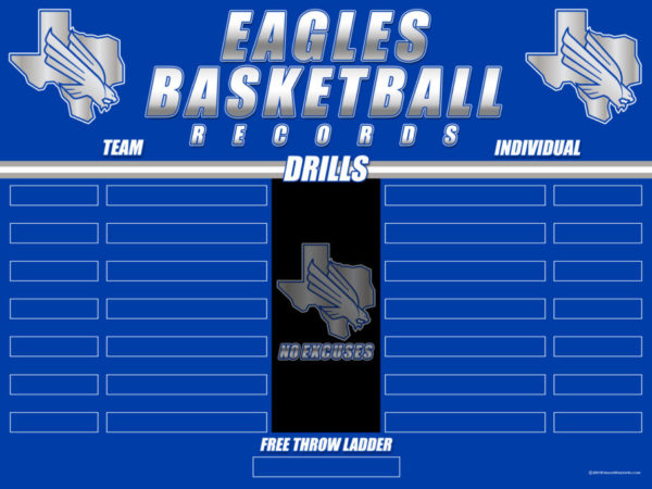 Lindale MBB Drill Record Board 3x3-