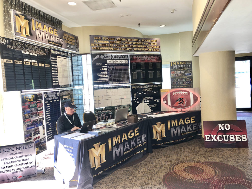 Image Maker at the LONE STAR COACHES CLINIC-